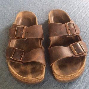 Birkenstock Soft bed sandals.